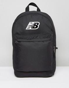 Черный классический рюкзак с логотипом New Balance - Черный