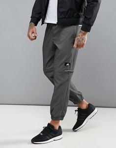 Джоггеры в клетку Adidas Training Bubble - Черный