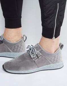 Серые кроссовки со стеганым задником Cayler & Sons Katsuro - Серый