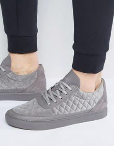 Серые стеганые кроссовки Cayler & Sons Chutoro - Серый
