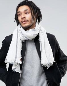 Легкий шарф в тонкую полоску Esprit - Белый