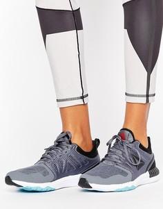 Кроссовки с 3D принтом Reebok - Серый