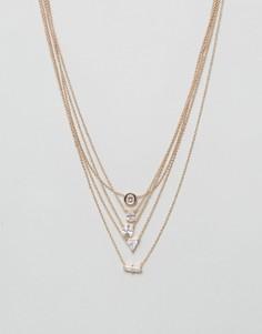 Ожерелье в несколько рядов ALDO Drayn - Золотой