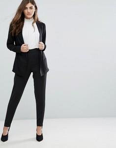 Брюки со штрипками New Look - Черный