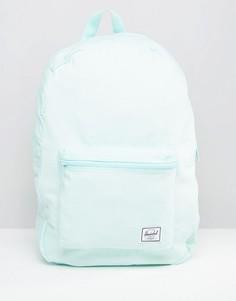 Светло-голубой хлопковый рюкзак Herschel Supply Co - Синий