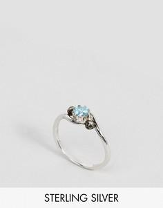 Серебряное кольцо с синим камнем Regal Rose Amore - Серебряный