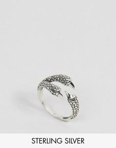 Кольцо с орлами Regal Rose Mercy - Серебряный