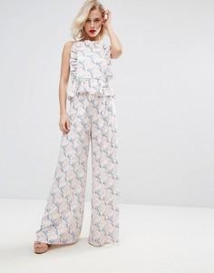 Комбинируемые брюки с цветочным принтом Horrockses - Мульти