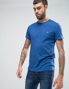Синяя футболка с логотипом в виде фазана Jack Wills Sandleford - Синий
