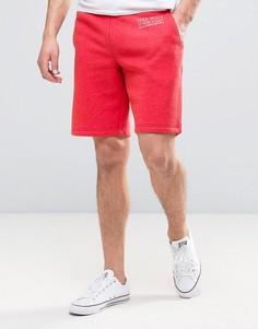 Красные трикотажные шорты с выбеленным эффектом Jack Wills Balmore - Красный