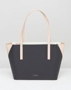 Маленькая сумка-шоппер в стиле колор блок Ted Baker Judy - Черный