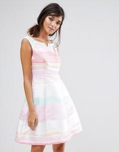 Платье в радужную полоску Coast - Мульти