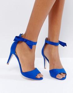 Туфли с ремешками и бантиками Coast Millie - Синий