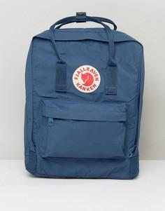 Синий рюкзак Fjallraven Kanken - Темно-синий