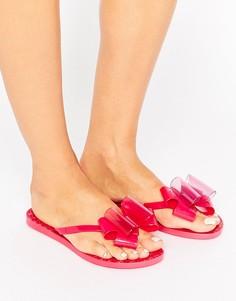Шлепанцы с бантиками Zaxy Link - Розовый