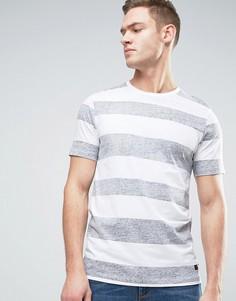 Полосатая футболка Produkt - Черный