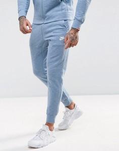 Голубые джоггеры Nike Legacy 805150-436 - Синий