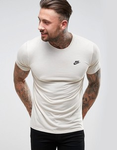 Бежевая футболка Nike Tech 847505-140 - Бежевый