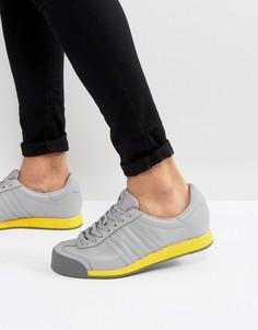 Серые кроссовки adidas Originals Samoa Vintage BB8597 - Серый