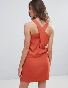 Платье-комбинация See U Soon - Красный