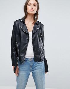 Куртка из полиуретана Glamorous - Черный