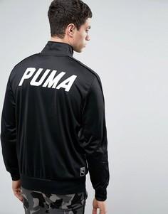 Черная спортивная куртка Puma - Черный