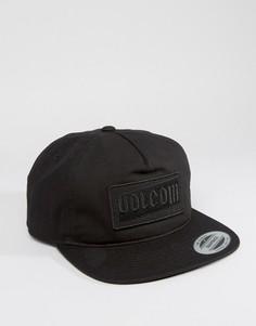 Бейсболка Volcom x Tetsunori - Черный