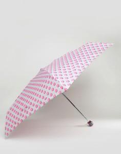 Зонт в горошек Totes - Серый