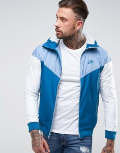 Синяя ветровка Nike 727324-460 - Синий