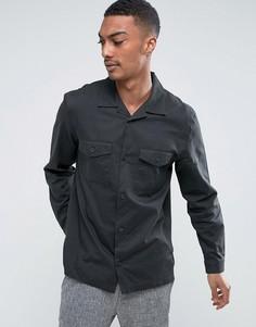 Рубашка Weekday Lupus - Черный