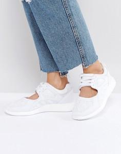 Белые кроссовки adidas Originals EQT Racing - Белый