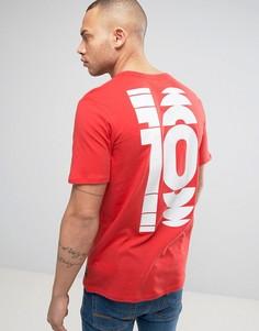 Красная футболка Nike F.C 3 847193-602 - Оранжевый