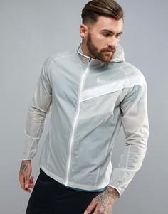 Серая легкая ветровка Nike Running 833545-042 - Серый