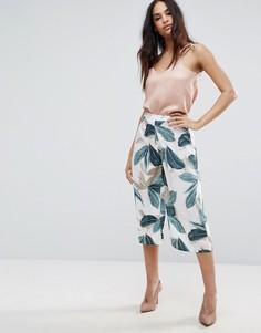 Юбка-шорты с тропическим принтом Missguided - Мульти