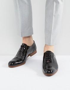 Лакированные оксфордские туфли Ted Baker Haiigh - Черный