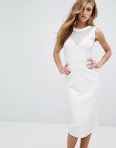 Облегающее платье Supertrash Dython - Белый