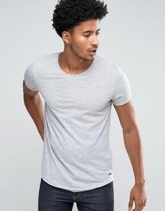 Длинная футболка Esprit - Серый