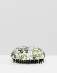 Дорожая щетка для волос с пальмовым принтом New Look - Мульти