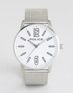 Часы с браслетом из нержавеющей стали и серебристым циферблатом Police Esquire - Серебряный