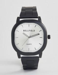Часы с черным браслетом Bellfield - Черный