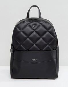Черный стеганый рюкзак Fiorelli - Черный