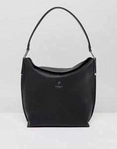 Черная сумка-хобо через плечо Fiorelli - Черный