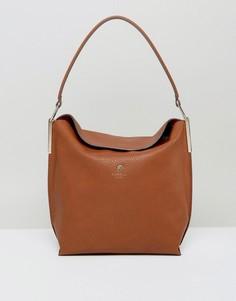 Светло-коричневая сумка-хобо через плечо Fiorelli - Рыжий