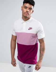 Белая футболка-поло Nike Matchup 847646-102 - Белый