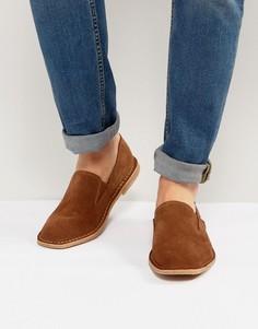 Замшевые туфли Jack & Jones Niall - Рыжий