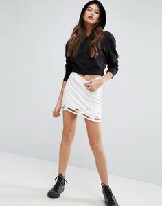 Мини-юбка ASOS - Белый
