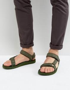 Сандалии из ткани рипстоп Teva Original Universal - Зеленый