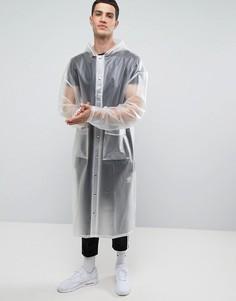 Oversize-макинтош из полиуретана Granted - Белый