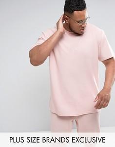 Розовая oversize-футболка Puma эксклюзивно для ASOS - Розовый