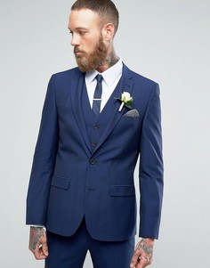 Однотонный пиджак Harry Brown - Синий